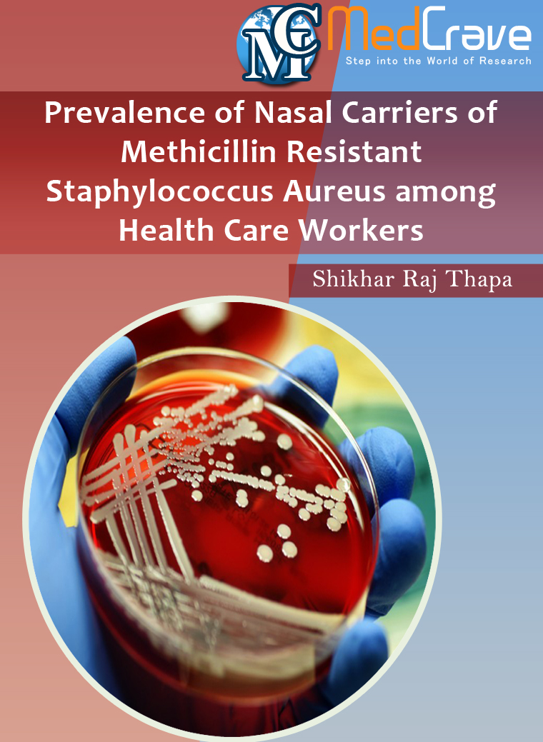 Medcrave ebooks medcrave online publishing ebooks open access prevalence of nasal carriers of methicillin resistant staphylococcus aureus among health care workers fandeluxe Image collections